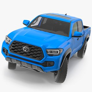 toyota tacoma trd road 3D model
