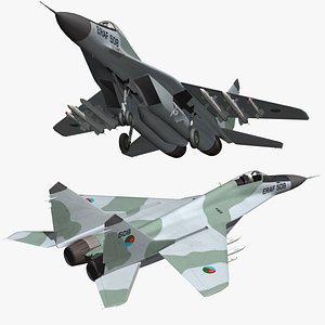 mikoyan air force 3D model