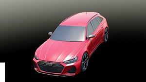 Audi RS 6 Avant 3D