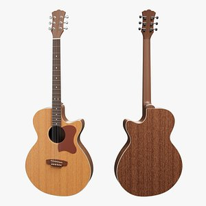 3D Modern Acoustic Guitar