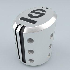 SPARCO Settanta R Shift Knob Silver model