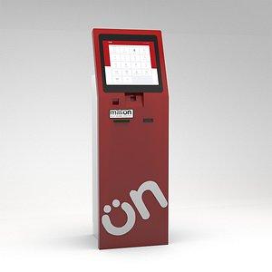 3D payment terminal model