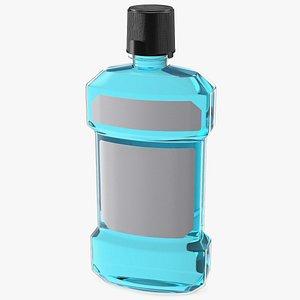 Anticavity Mouthwash 250ml Bottle 3D model