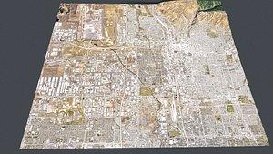 Cityscape Salt Lake City USA 3D model