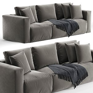 Zanotta Gamma sofa 3D model