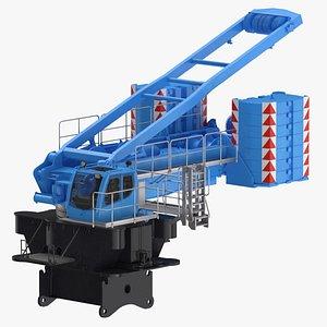 crane lr 1600 base 3D model
