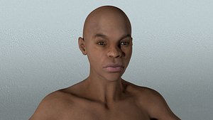 3D laomusic zbrush african female