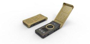 Starfleet Communicator 2257 3D model