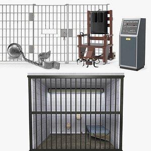 Prison Space Collection 2 3D model