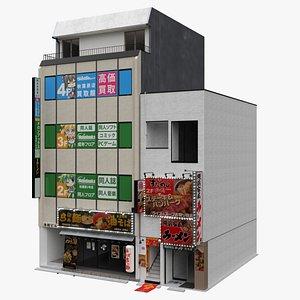 3D Tokyo Modern Commercial Building