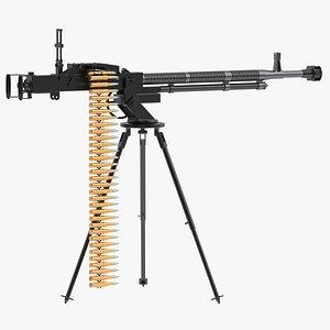 DShK Heavy Machine Gun 3D model
