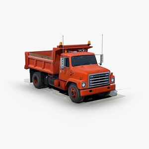 3D International 1754 Dump truck