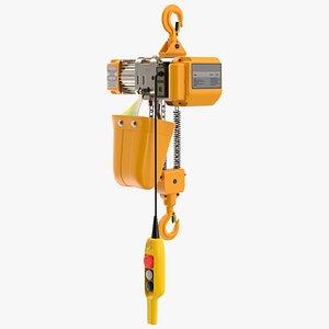 3D Electric Chain Hoist 1T
