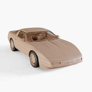 3D model chevrolet corvette