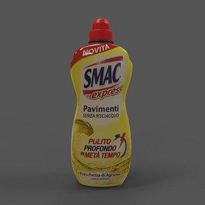Detergent SMAC Express 1000ml 3D model