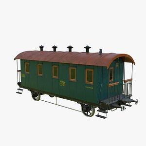 3D Wagon Pass32 model