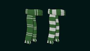 3D hogwarts scarf - sonserine