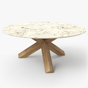 cassina la rotonda table 3D model