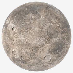 3D Dwarf Planet Ceres model