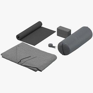 gym manduka yoga 3D
