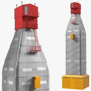 Drilling Rig Shelter 3D model