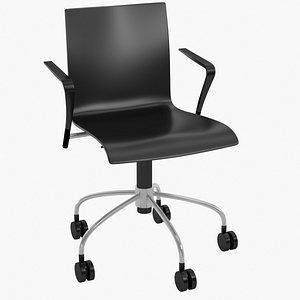 3D model realistic chair piiroinen -