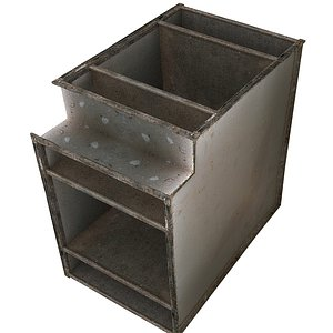 3D Ventilation Modular 01 02 P model