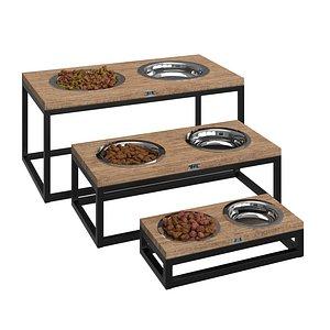 3D Pets Food Bowl Loft