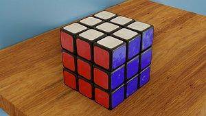 3D model Rubik Cube | Blender