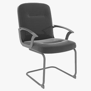 cantilever chair 3D model