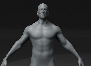 body base mesh 20k 3D model