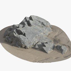 rock coast model
