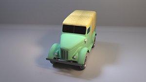 GAZ-69 offroader 3D model