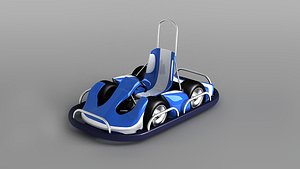 bumper cars playground kart 3D