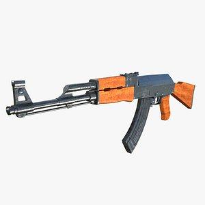 Assault Rifle AK-47 3D model