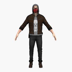 3D bandit man guy