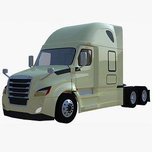 cascadia semi-truck 3D