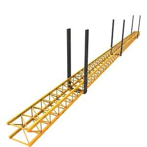 3D Railing 5 model