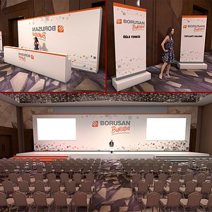 meeting room 3D
