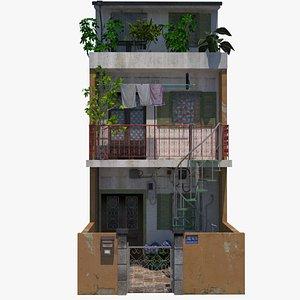 3D Hue Townhouse model