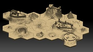 3D Hexagonal map