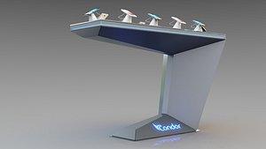Electronic Display Unit 3D model