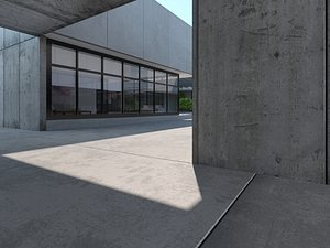 3D Exterior Scene 05 Rev.1 model