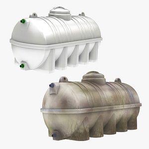 tank water dirty 3D model