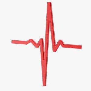 3D icon pulse