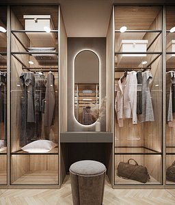 3D dressing room corona model
