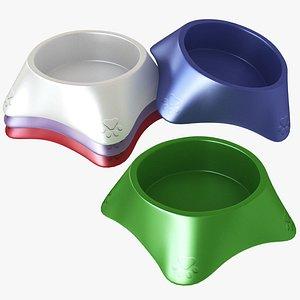 Plastic Pet Bowl model