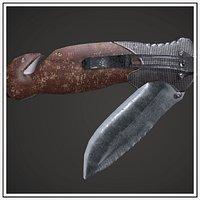 Pocketknife Military Hunting Knife