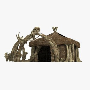 The barbarian chief's tent 3D