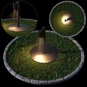 3D Light ooutdoor2 model